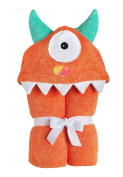 Yikes Twins Hooded Towel Orange Monster