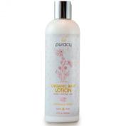 Puracy Organic Baby Lotion - The BEST Calming Moisturiser - Gentle - Non-Toxic - Nourishing - Lavender & Grapefruit - 350ml Bottle