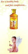 2 X Himani Sona Chandi Healthy & Fair Ayurvedic Baby Massage Oil with Real Gold Silver & Kesar Ext 50ml X 2 Pack