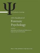 APA Handbook of Forensic Psychology
