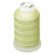 Simply Silk Beading Thick Thread Cord Size FFF (0.016 Inch 0.42mm) Spool 92 Yards Compatible with Kumihimo Super Lon