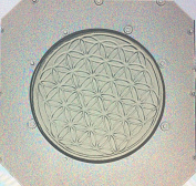 Flexible Resin or Chocolate Mould Sacred Geometry Flower of Life