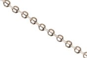 Ball Chain, Silver Plated 3.2mm Ball Sold Per 1.5m