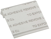 Self-Adhesive Earring Card Adapter 1x1 (100-Pcs) Jewellery Display