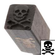 Skull & Crossbones Design Punch For Stamping Metal Large 10mm 2/5 Inch