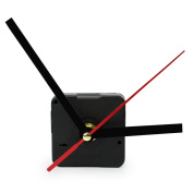 Hot Black Quartz Wall Clock Movement Mechanism Hands DIY Repair Tool Parts Kit