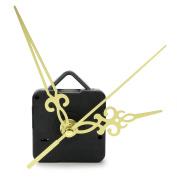 Simple Gold Hands DIY Quartz Wall Clock Movement Mechanism Replacement Parts Kit
