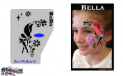 Face Painting Stencil - StencilEyes Profile Bella - Fairy