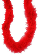 Touch of Nature 38009 Fluffy Boa, Deep Red