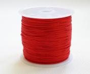 RED 0.8mm Chinese Knot Nylon Braided Cord Shamballa Macrame Beading Kumihimo String