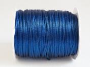 ROYAL BLUE 1mm Bugtail Satin Cord Shamballa Macrame Beading Nylon Kumihimo String