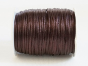 CHOCOLATE BROWN 1mm Bugtail Satin Cord Shamballa Macrame Beading Nylon Kumihimo String