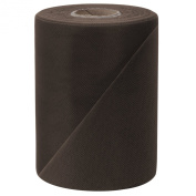 Falk Fabrics Tulle Spool, 15cm by 100-Yard, Brown