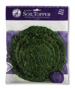 SuperMoss (26335) Moss Soil Toppers, Fresh Green, Assorted 4 Sizes