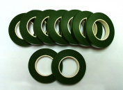 1.3cm X 30 Yards Green Floral Tape.. You Will Get 4 Rolls of 1/2 X 30 Yards Tape