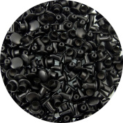 Springfield Leather Company's Black Extra Small Double Cap Rivets 100pk