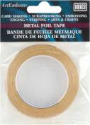 AMACO ArtEmboss Metal Foil Tape, 0.6cm -by-4.9m, Brass