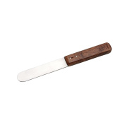 Stainless Steel Wood Handle Wax Spatula