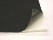 23cm X 30cm Adhesive Backed Felt, Black, Pack of 5