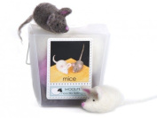 WoolPets Mice Needle Felting Craft Kit