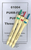 Purr-fect Punch Three Needle Kit for Punchneedle Punch Needle