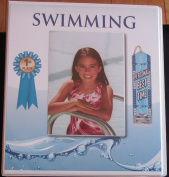 Swimming Ribbon Organiser Binder Storage Album Ribbons Holder Swim Swimmer Gift Display