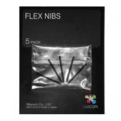Wacom Bamboo Flex Nib Set (5 Pack) For CTL, CTH, CTE, MTE, INTUOS4