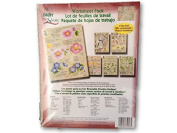 2014 Wildflowers & Critters One Stroke Reusable Painting Teaching Guide Worksheet Pack