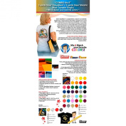 """""""COMBO No.13cm : 3 Yards Siser EasyWeed Heat Transfer Vinyl + 2 Yards Siser Metallic Heat Transfer Vinyl (Mix & Match your favourite colours) ."""