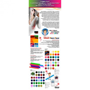 """COMBO No.15cm : 5 Yards Siser EasyWeed Heat Transfer Vinyl + 3 Yards Siser Glitter Heat Transfer Vinyl (Mix & Match your favourite colours) ."