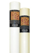 Black Ink Thai Mulberry Block Printing Paper Rolls unbleached white