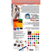 3 Yards Heat Transfer Vinyl Siser EasyWeed 38cm Cricut Die cut CraftROBO on Cotton or Polyester mesh and Poly-blend fabrics (Mix & Match colours) .