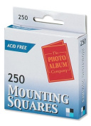 Photo Album Company Photo Mounting Squares White Pack of 250 MS250
