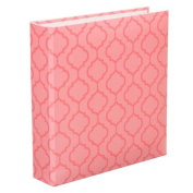 Project Life Album, 15cm by 20cm , Pink Lattice