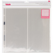 American Crafts Thickers Storage Protectors, 30cm by 30cm , 10-Pack