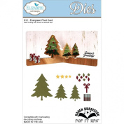Elizabeth Craft Metal Die-Evergreen Pivot Card