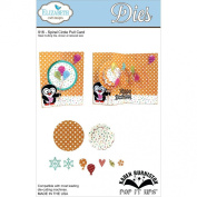 Elizabeth Craft Metal Die-Spiral Circle Pull Card