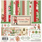 Carta Bella Paper Company Christmas Time Collection Scrapbooking Kit