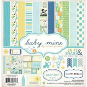 Carta Bella Paper Company Baby Mine Boy Collection Scrapbooking Kit