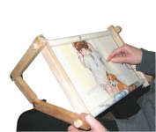 Fa Edmunds Flexible 23cm X 46cm Needlework Embroidery Adjustable Lap Or Table Stand