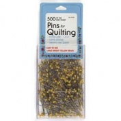 Collins Quilting Pins 4.4cm Yellow Head 500pc