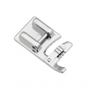 Sew Perfect Zipper Cording Presser Foot for All Low Shank Snap-On Singer, Brother, Babylock, Euro-Pro, Janome, Kenmore, White, Juki, New Home, Simplicity, Elna Sewing Machines and More!