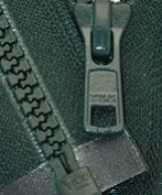 46cm Vislon Zipper ~ YKK #5 Moulded Plastic ~ Separating - 890 Dark Green Hemlock