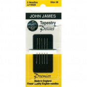 Tapestry Petites Hand Needles-Size 22 6/Pkg