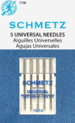 SCHMETZ Universal (130/705 H) Household Sewing Machine Needles - Carded - Size 70/10