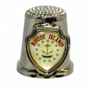 Souvenir Thimble - Rhode Island