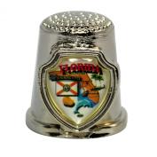 Souvenir Thimble - Florida - FL
