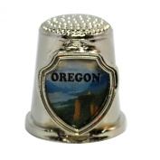 Souvenir Thimble - Oregon