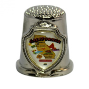 Souvenir Thimble - California