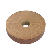 About 25mm about 10m roll / # 540 (Brown) INAZUMA leather tape width